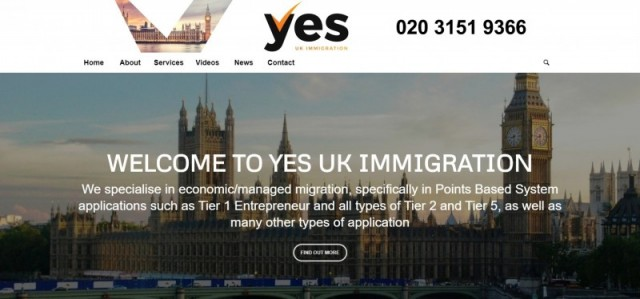 YES UK Immigration Ltd