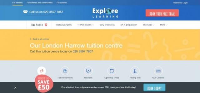 Explore Learning Harrow