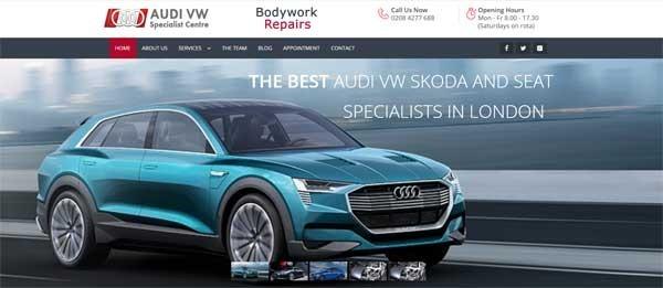 Audi VW Specialist Centre
