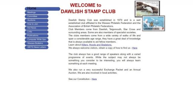 Dawlish Stamp Club